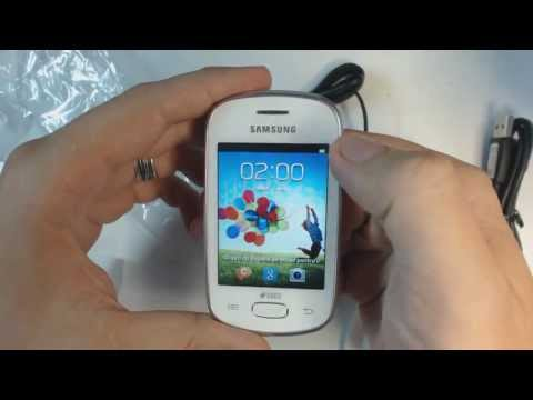 Samsung Galaxy Star Duos S5282 unboxing