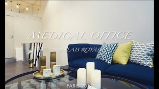 Medical Office in Paris By Samia Verbist Interior Design LLC