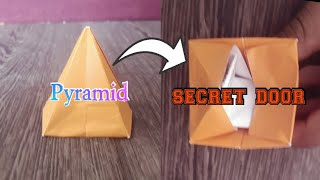 Pyramid+ secret door+ exploding pyramid tower