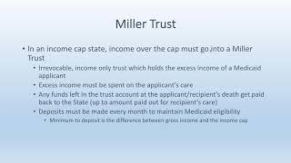 Medicaid Medicare Preservation Trust