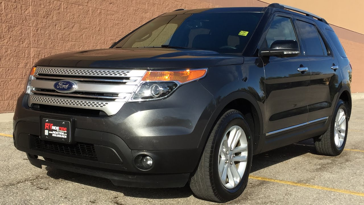 2015 ford explorer xlt 4wd leather backup camera 3rd row seating super low kms youtube. Black Bedroom Furniture Sets. Home Design Ideas