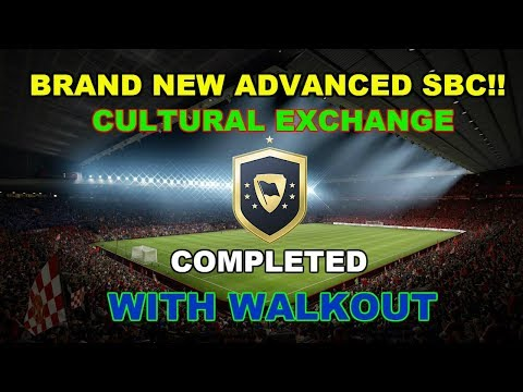 NEW ADVANCED CULTURAL EXPRESS SBC!! WE PACK AN AWESOME WALKOUT PLAYER