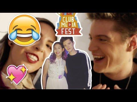 Lionel Ferro me mira con amor y me confunde con una PERA ¡Club Media Fest Colombia 2017!