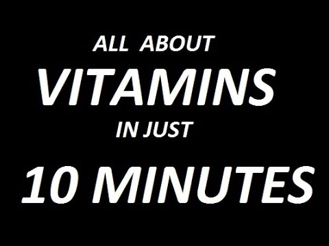 Vitamins || Introduction With MCQs ||