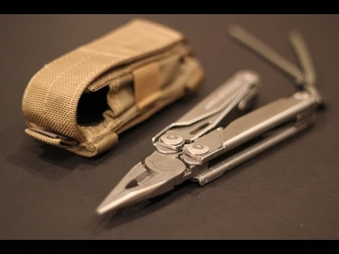 Leatherman Surge Overview and my Modifications- Black Scout Reviews - YouTube