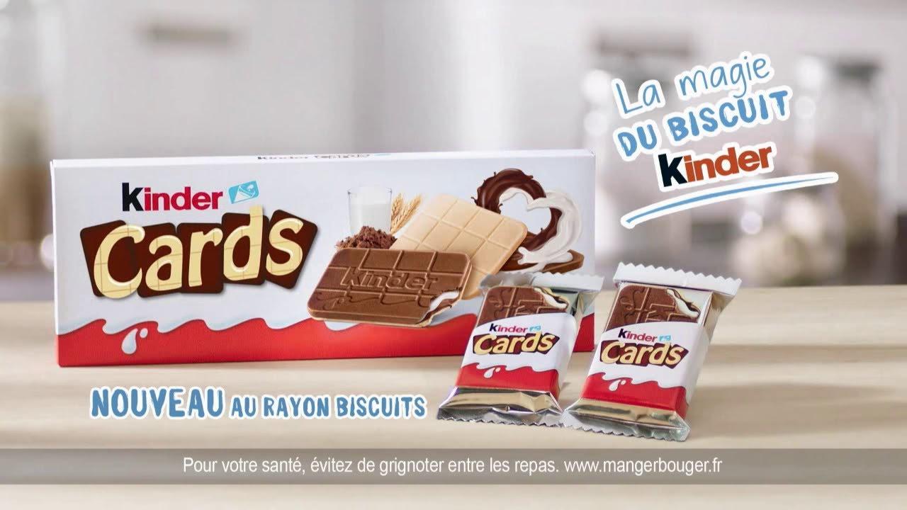 """Musique de la pub Kinder Cards """"la magie du biscuit Kinder""""  2021"""