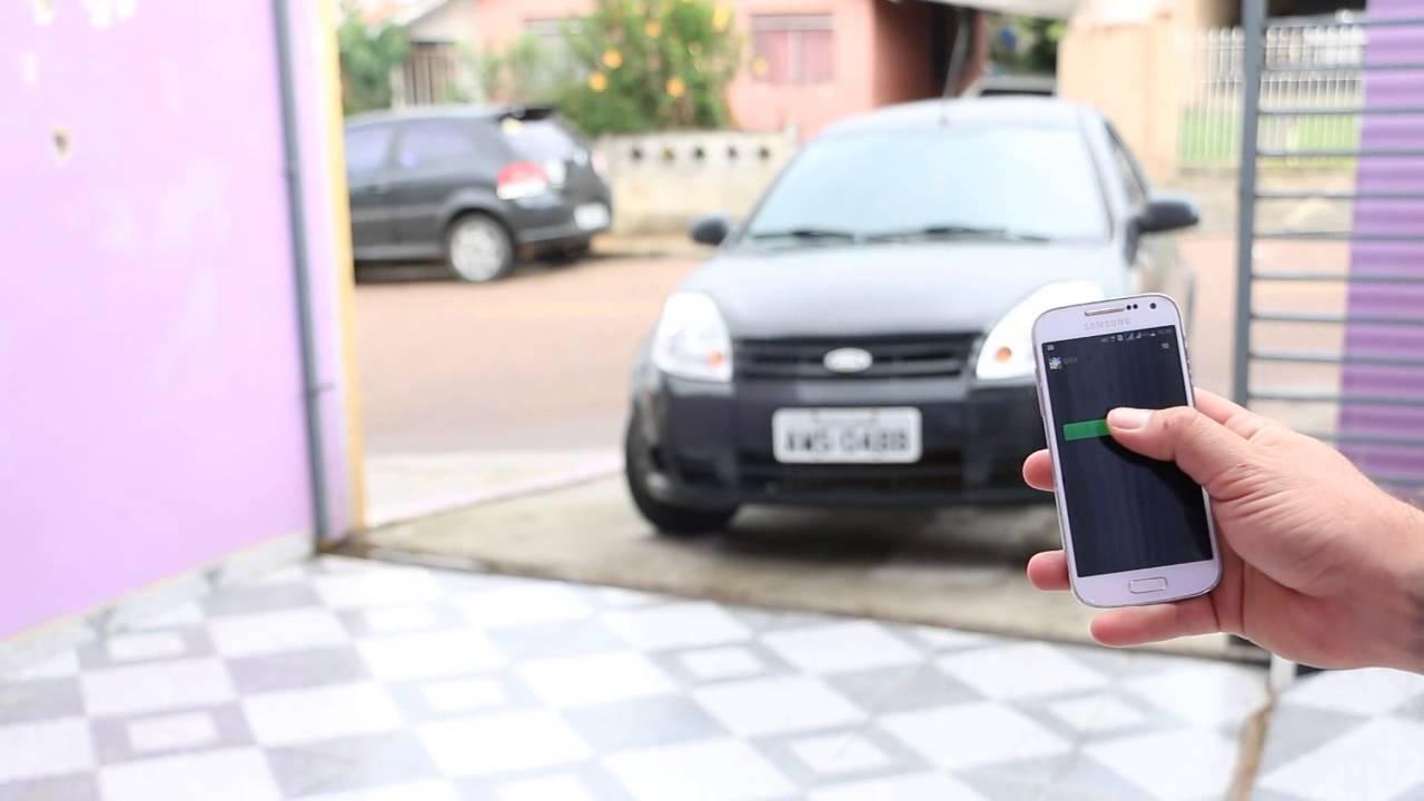 Aprenda como abrir o portão eletrônico pelo celular