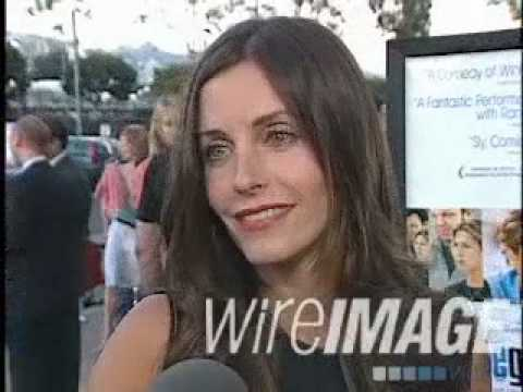 Courteney Cox interview at The Good Girl Premiere in 2002 #2