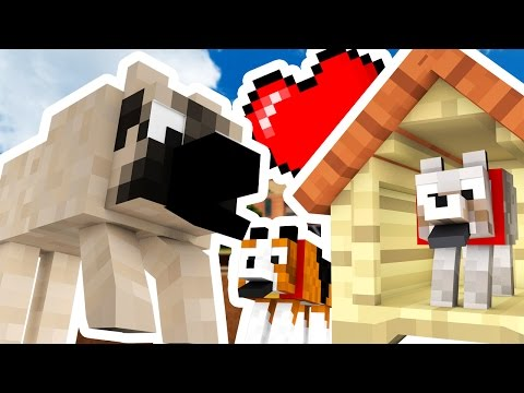 Minecraft Modded Hide And Seek - CUTE PUPPY MOD - Modded Dog Pet