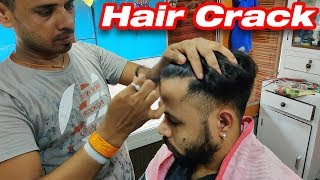 Incredible Hair Cracking Head Massage and Neck Cracking   Indian Massage