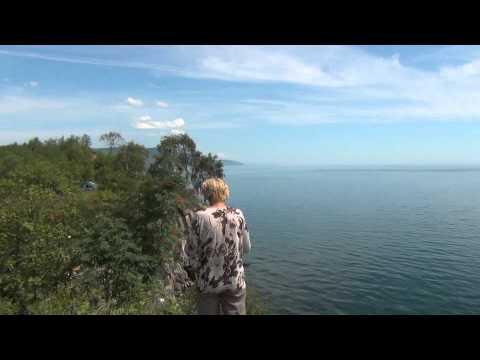 Байкал 2015 - видео9 - Слюдянка - мыс Шаманка