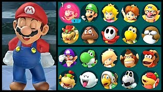 Super Mario Party Laughing All Characters