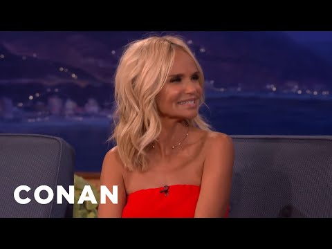 Kristin Chenoweth's Phlegmy Adventures With Peter Gallagher  - CONAN on TBS