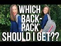 WHICH BACKPACK SHOULD YOU GET? COMPARING POPULAR BRANDS