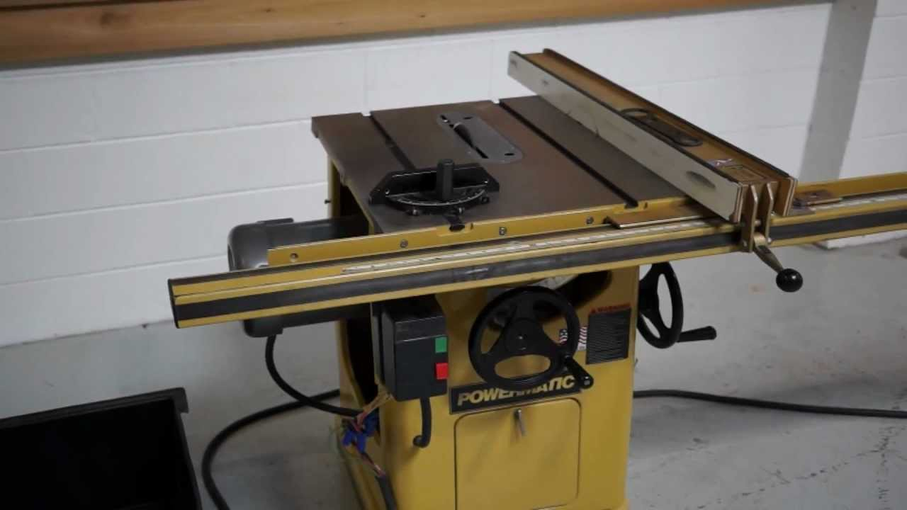 late model powermatic 66 table saw 72 biesemeyer sold youtube rh youtube com powermatic 66 table saw for sale powermatic 66 table saw manual