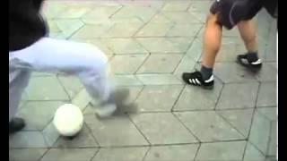 Месси и Криштиану Роналду не видели таких футбольных финтов. Футбольные приколы.