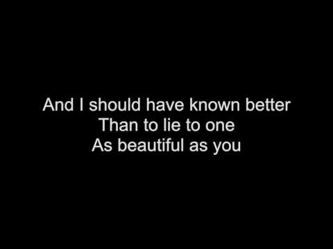 I Should Have Known Better - HD With Lyrics! By: Chris Landmark