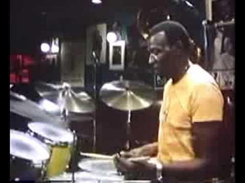 Elvin Jones Drum Solo Demonstration