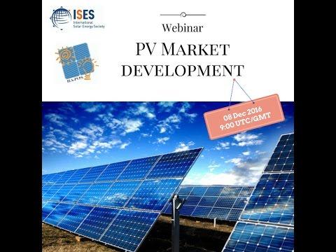 Webinar: PV Market Development
