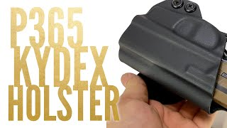 Concealment Express OWB Sig P365 KYDEX Holster Review