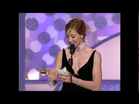 Edie Falco Wins Best Actress TV Series Drama - Golden Globes 2003