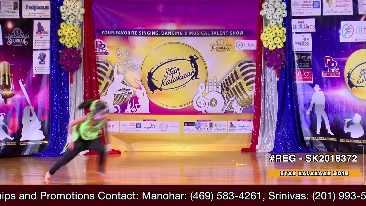 Registration NO - SK2018372 - Star Kalakaar 2018 Finals - Performance