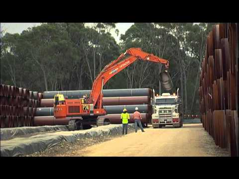 QCLNG Export Pipeline Project Video