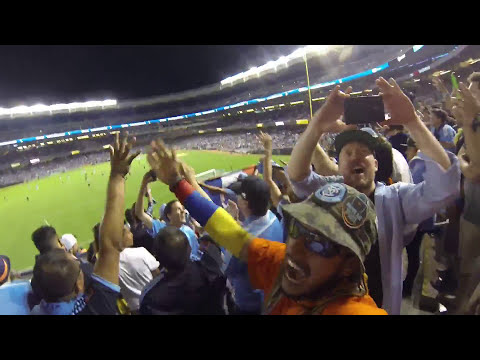 NYCFC SUPPORTERS VS DC UNITED 8-13-2015