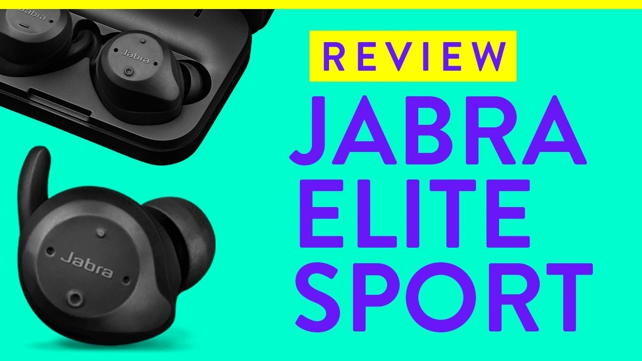 4333b856127 Jabra Elite Sport Review - Truly Wireless Bluetooth Headphones - YouTube