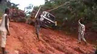 Esther and Andy stuck in Congo