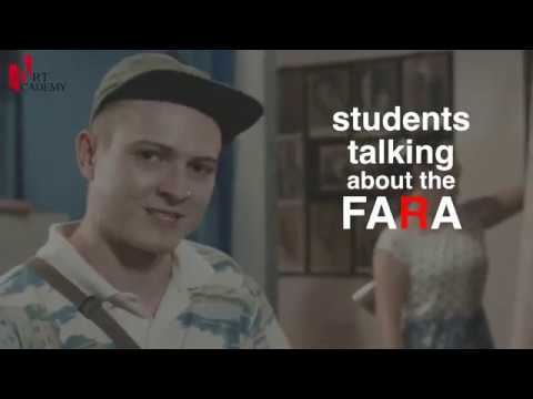 Students  talking  about the Florence Academy of Russian Art ALESSIO (MELBOURNE, AUSTRALIA)