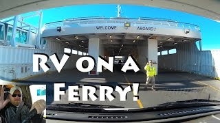 Yoda Takes the Ferry Into Delaware - Nice Camping!