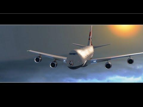 AIR UGANDA FLYING IN THE SKY-Visual effects/CGI