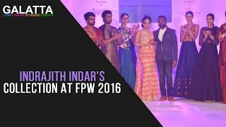 Indrajith Indar's collection at FPW 2016