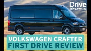 2018 Volkswagen Crafter First Drive Review | Drive.com.au