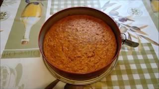 Морковный пирог по любимому рецепту
