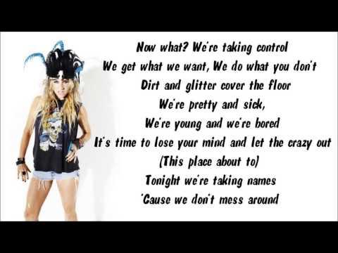Ke$ha - Blow Karaoke / Instrumental with lyrics on screen