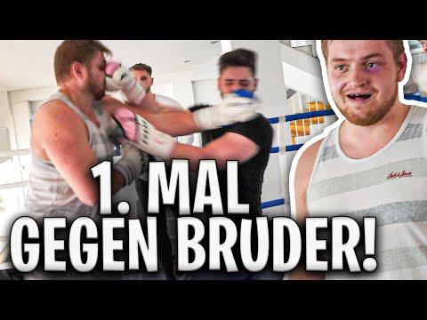 💪🏻😵MEIN BRUDER VERPRÜGELT MICH?! | INSTANT Knockout? | Box Vlog