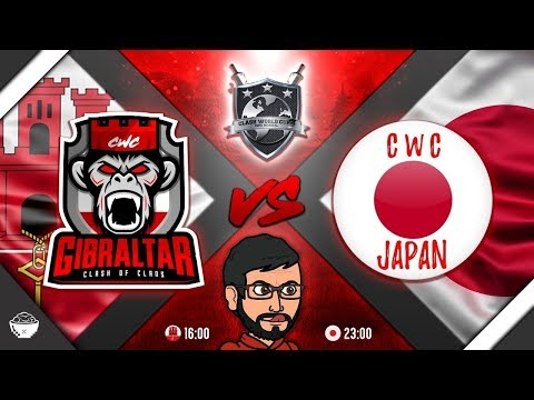 GIBRALTAR vs EL CAMPEON DEL MUNDO: JAPON! Jornada 4 de la CWC 3rd Edition | Clash of Clans