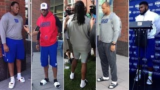Ask the NY Giants: Socks with Sandals?