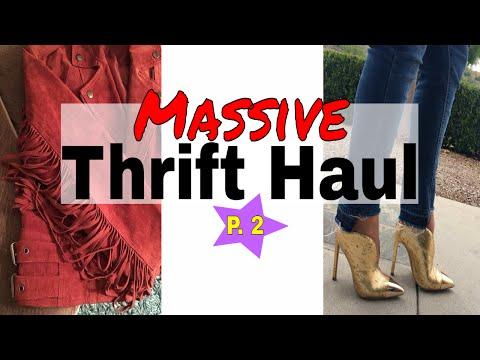 MASSIVE Designer Thrift Haul | Givenchy, Rebecca Minkoff, Calvin Klein, Coach & more! | Part 2