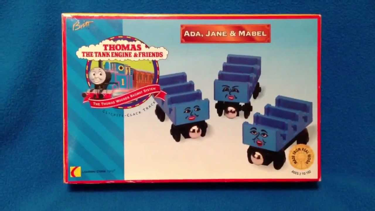Rare Nib New Retired Ada Jane Mabel Thomas The Tank Engine Wooden Railway Toy Discussion