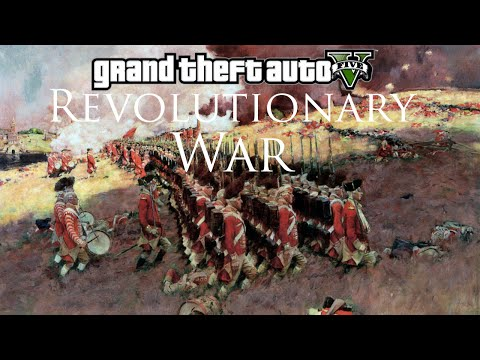 GTA V - Revolutionary War Mod (Musket Shootout)
