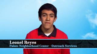 Leonel Reyes, 2014 Paiute Outreach Services Youth of the Year