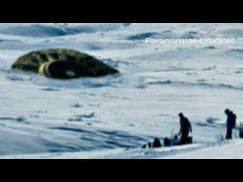 UFO Crash Lands in Canada