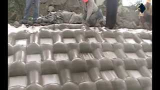 ACEFormer™ Geotextile Mattress Installation for Slope and River Protection