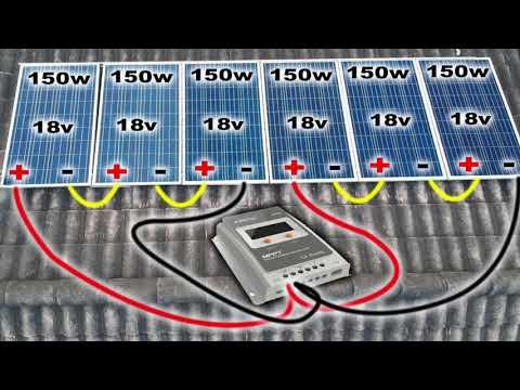 Como instalar sistema residencial de Energia solar OffGrid com Epsolar Tracer 40 Amp