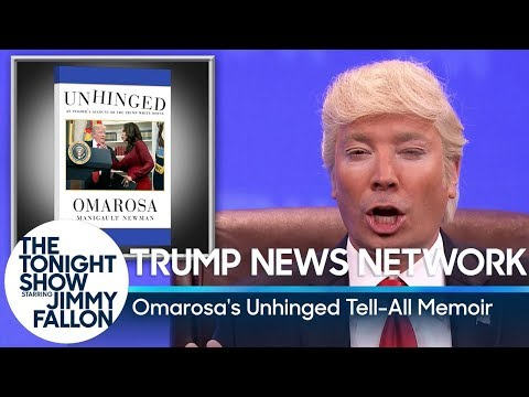 Trump News Network: Omarosas Unhinged TellAll Memoir