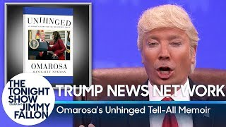 "Trump News Network: Omarosa's ""Unhinged"" Tell-All Memoir"