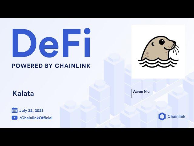 Kalata on Chainlink Live   Binance Smart Chain Derivatives Trading
